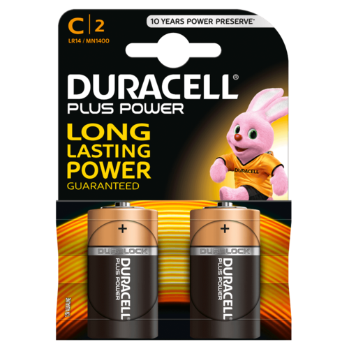DURACELL Plus Power MN 1400 C BL2