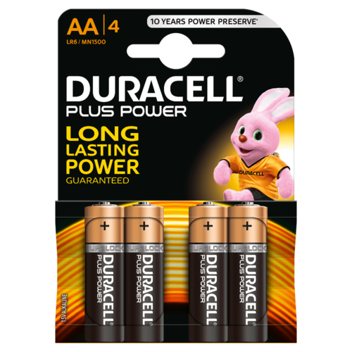 DURACELL Plus Power MN 1500 AA BL4