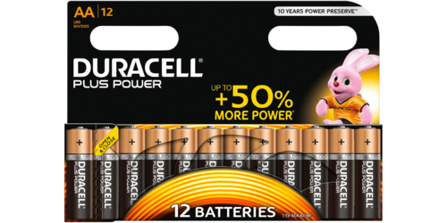 DURACELL Plus Power MN 1500 AA BL12 1,5V