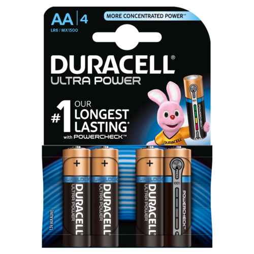 DURACELL Ultra Power MX 1500 AA BL4 1,5V