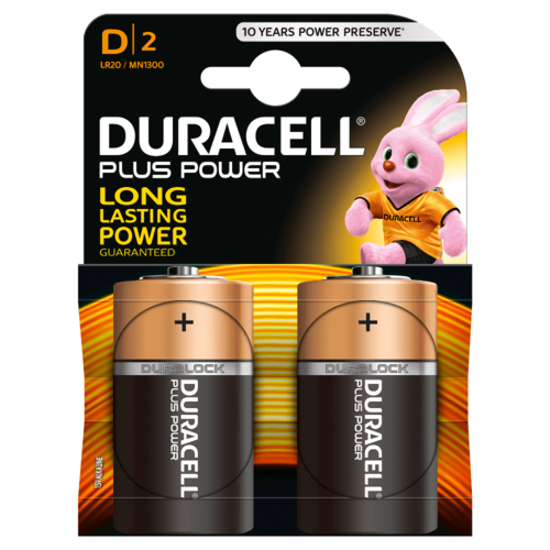 DURACELL Plus Power MN1300 D BL2