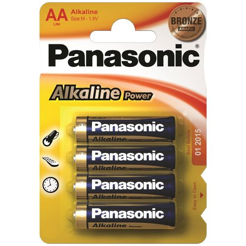 PANASONIC Alkaline Power AA BL4