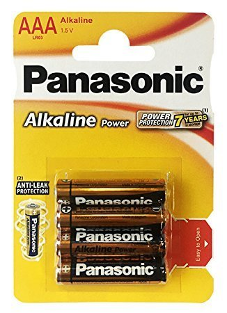 PANASONIC Alkaline Power LR03 AAA BL4
