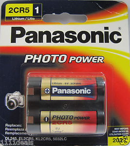 PANASONIC Photo Lithium 2CR5 BL1 6V