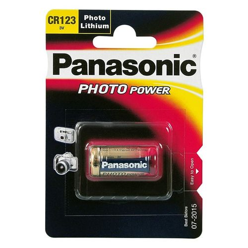 PANASONIC Photo Lithium CR123 BL1 3V