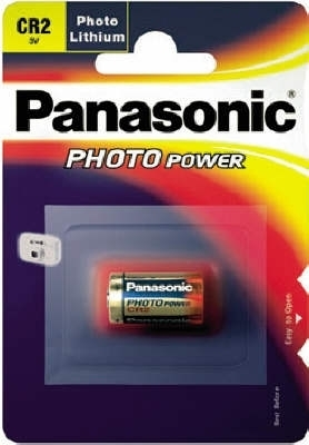 PANASONIC Photo Lithium CR2 BL1 3V