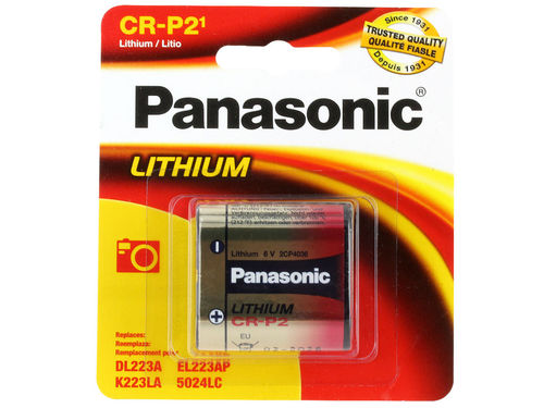 PANASONIC Photo Lithium CRP2 BL1 6V